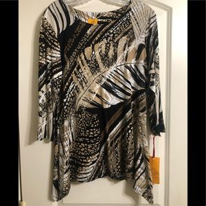 Ruby Rd Tunic NWT Size S
